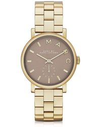Marc By Marc Jacobs - Baker Bracelet 36Mm Gold Ip Women'S Watch - Lyst