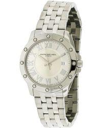 Raymond Weil - Men's Stainless Steel Watch - Lyst