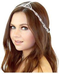 Kristin Perry - Rhinestone Cleo Headpiece - Lyst