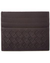 Bottega Veneta - Intrecciato Nappa Leather Card Case - Lyst