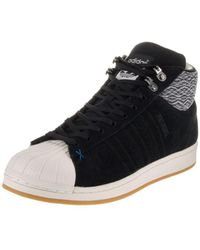 adidas Originals Pro Model Grey Leather Casual Shoes CG5073