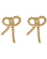 Fornash - Plated Bunny Earrings - Lyst