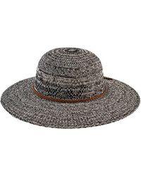 San Diego Hat Company - Women's Marled Knit Floppy Hat Cth8080 - Lyst