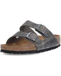 Birkenstock - Unisex Sandal Grey Arizona - Lyst