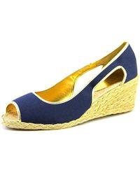 Ralph Lauren - Womens Charlotte Peep Toe Casual Espadrille Sandals - Lyst
