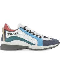 DSquared² - Men's Multicolor Leather Sneakers - Lyst