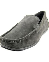 Gbx - Waco Square Toe Suede Loafer - Lyst