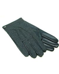 Joseph Abboud - Joesph Abboud Tweed Leather Gloves - Lyst