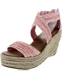 BEARPAW - Women's Begonia Coral Ankle-high Fabric Sandal - 6m - Lyst