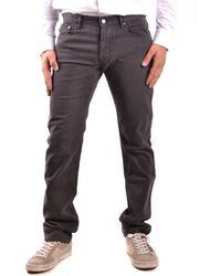 Burberry - Men's Brown Cotton Jeans - Lyst