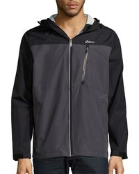 Asics - Hooded Long-sleeve Jacket - Lyst