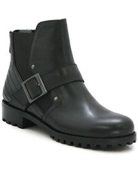 Adrienne Vittadini - Donnie Leather Bootie - Lyst