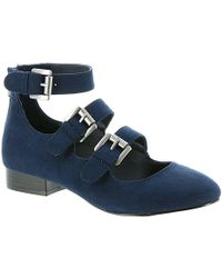 MIA - Womens Luisa Closed Toe Casual Ankle Strap Sandals - Lyst