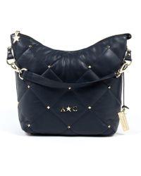 Andrew Charles by Andy Hilfiger | Andrew Charles Womens Handbag Dark Blue Tess | Lyst