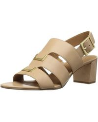 CALVIN KLEIN 205W39NYC - Womens Neda Leather Open Toe Casual Strappy Sandals - Lyst