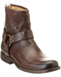 Frye - Women's Phillip Harness Leather Boot - Lyst