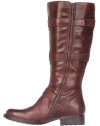 Born - Womens Falmouth Leather Round Toe Knee High Fashion Boots - Lyst