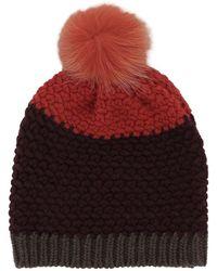 Etro - Women's Multicolor Wool Hat - Lyst