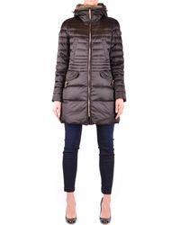 Peuterey - Women's Brown Polyester Down Jacket - Lyst