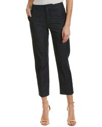 Joe's Jeans - Carlita Dumas High-rise Crop Trouser - Lyst