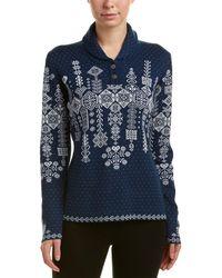 Obermeyer | Cabin-knit Wool-blend Pullover | Lyst