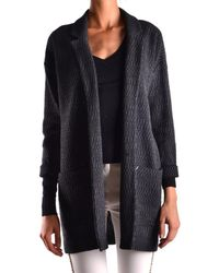 Jacob Cohen - Women's Mcbi160426o Grey Wool Cardigan - Lyst