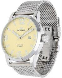 TW Steel - Watch Maverick Automatik Silver Mb6 - Lyst