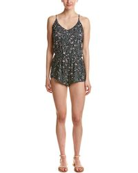 Dolce Vita - Beaded Cover-up Romper - Lyst