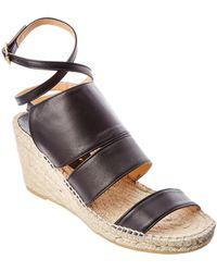 Bettye Muller - Dusty Leather Sandal - Lyst