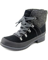 Sporto - Debbie Women Round Toe Synthetic Black Ankle Boot - Lyst