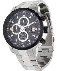 Kenneth Cole - Watch Chronograph Silver Kc9384 - Lyst
