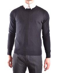 Burberry - Men's Mcbi056196o Black Wool Sweater - Lyst