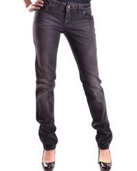 John Galliano - Women's Mcbi130049o Black Cotton Jeans - Lyst