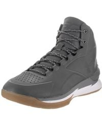 5640c57c76c Lyst - Under Armour Curry 3 Men Round Toe Synthetic Gray Sneakers in ...