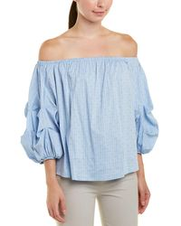 Cece by Cynthia Steffe - Off-the-shoulder Balloon Sleeve Top - Lyst