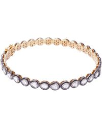 Socheec - Rose Cut Diamond Bracelet - Lyst
