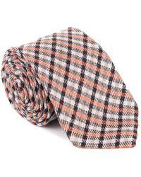 Tom Ford - Mens Geometric Striped Silk Blend Tie - Lyst