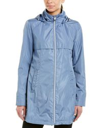 Via Spiga - Babydoll Packable Raincoat - Lyst