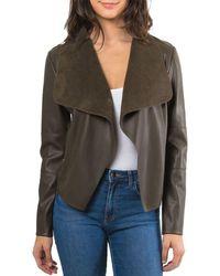 Bagatelle - Drape Jacket - Lyst