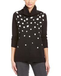 Kensie - Dotted Turtleneck Sweater - Lyst
