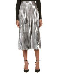 Bardot | Metallic A-line Skirt | Lyst