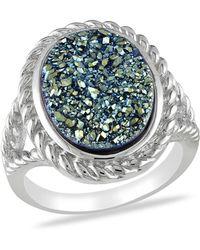 Catherine Malandrino | Druzy Gemstone Ring | Lyst