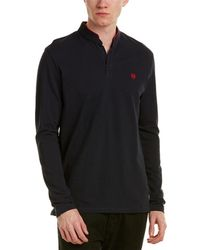 The Kooples - The New Shiny Pique Polo Shirt - Lyst