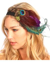 Kristin Perry - Peacock Spray Fascinator - Lyst