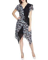 RACHEL Rachel Roy - Womens Printed A-line Cocktail Dress - Lyst