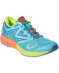 Asics - Noosa Ff Women Round Toe Synthetic Blue Running Shoe - Lyst
