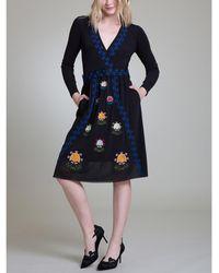 Vivienne Tam - Parasol Flower Netting Dress - Lyst