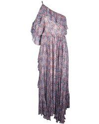 Philosophy - Women's 0413737v1349 Multicolor Viscose Dress - Lyst