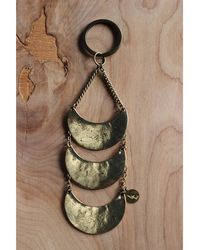 Love Leather - Many Moons Key Ring - Lyst