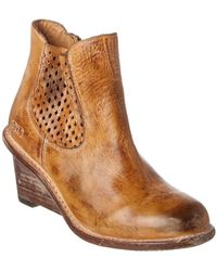 Bed Stu - Countess Leather Bootie - Lyst